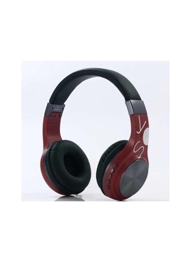 Bludfire Sy-Bt1607 Bluetooth Kulaküstü Kulaklık Kablosuz Sd Kart Girişi Aux Kırmızı Kırmızı